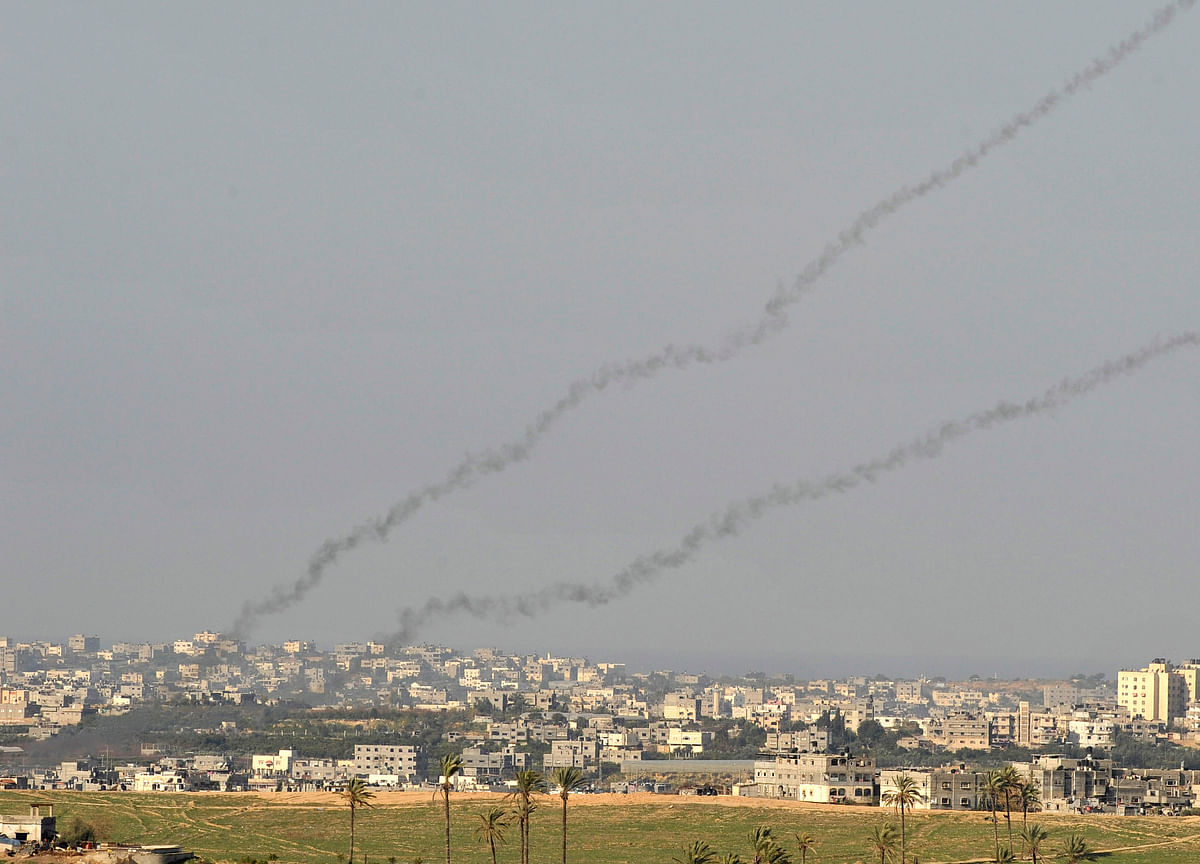 Gaza-Israel Tensions Escalate as Hundreds of Rockets Fly