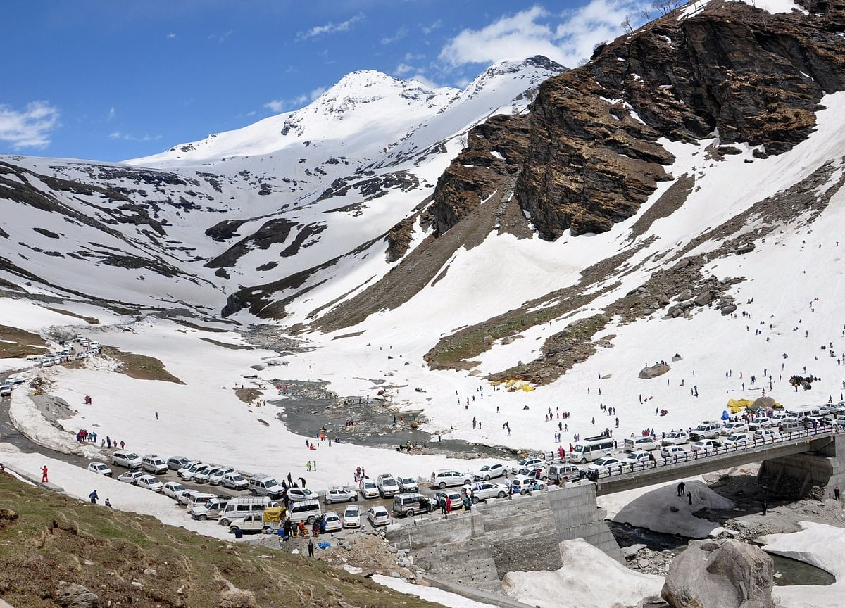 After A Decade, Rohtang Tunnel Ready For Opening Next Month