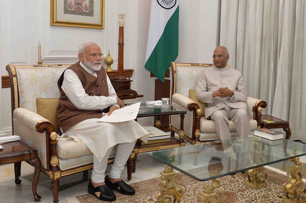 President Kovind Asks Modi To Decide Council Of Ministers, Swearing-In
