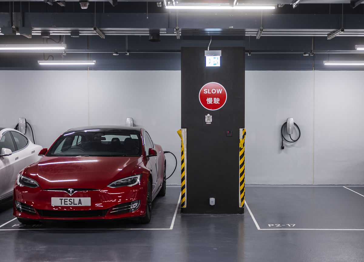 Tesla Suddenly Catches Fire in Hong Kong Parking Lot, Times Says