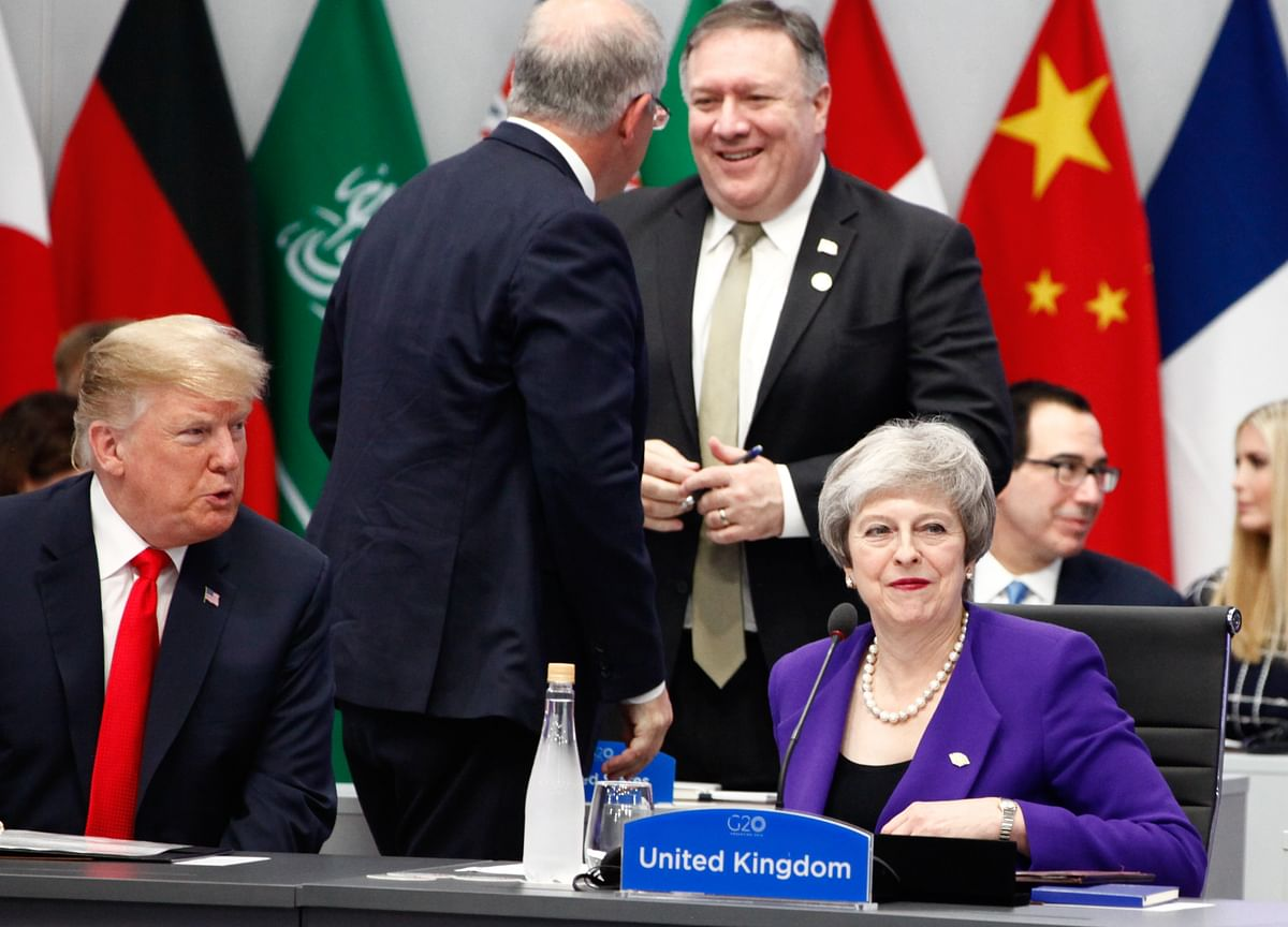 Trump and May End Relationship That Began Strained and Only Got Worse