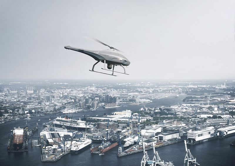 Sniffer Drones Will Start Patrolling the World's Busiest Shipping Ports