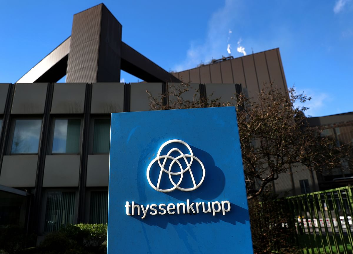Thyssenkrupp Lifts Guidance as Rising Sales Eases Cash Drain