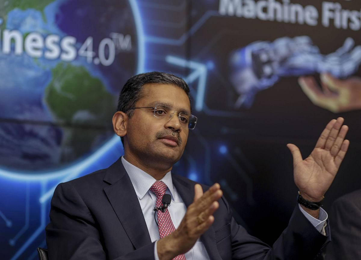 TCS Chief Gopinathan Takes A 28% Hike In Annual Salary