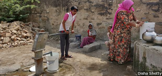 Gayatri Vishnawat, 23, from Chhota Narena in central Rajasthan's Ajmer district says filling water takes up to three hours every morning and the lives of women in most villages revolves around this task.