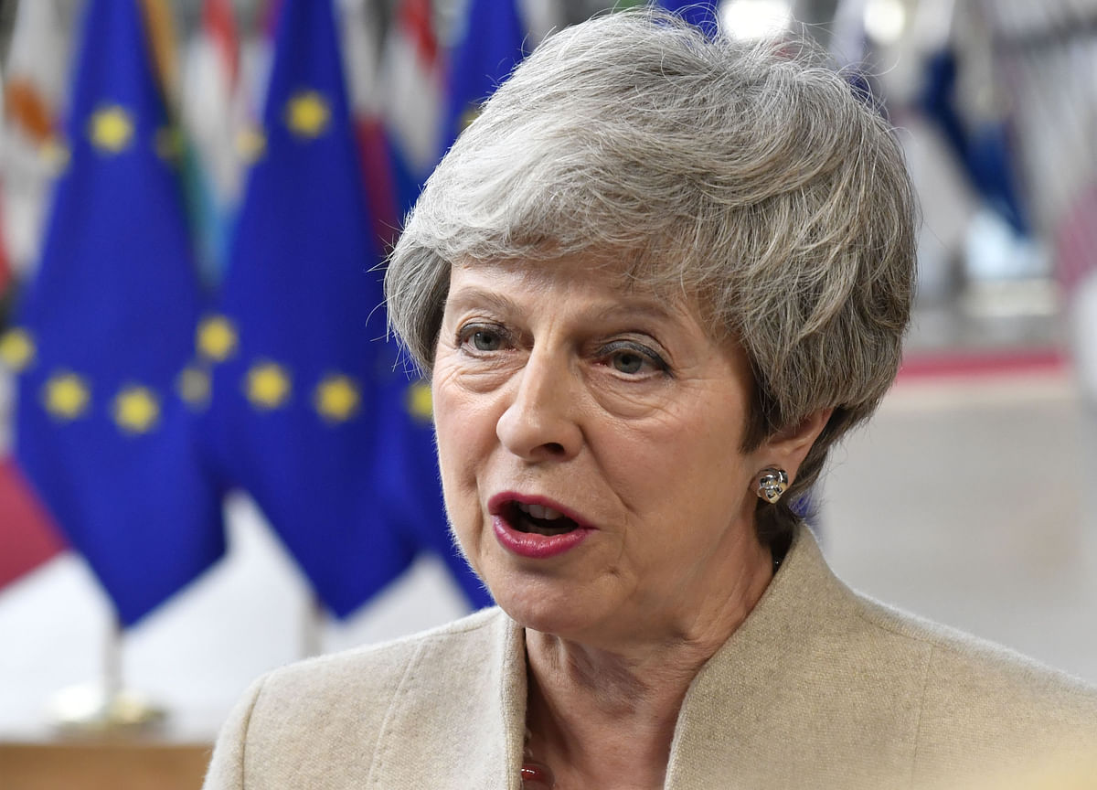 U.K.'s May Says Brexit Is Now a Matter for Next Prime Minister