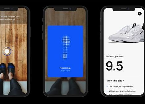 Sick of Getting Returned Sneakers, Nike Tries a New Sizing App