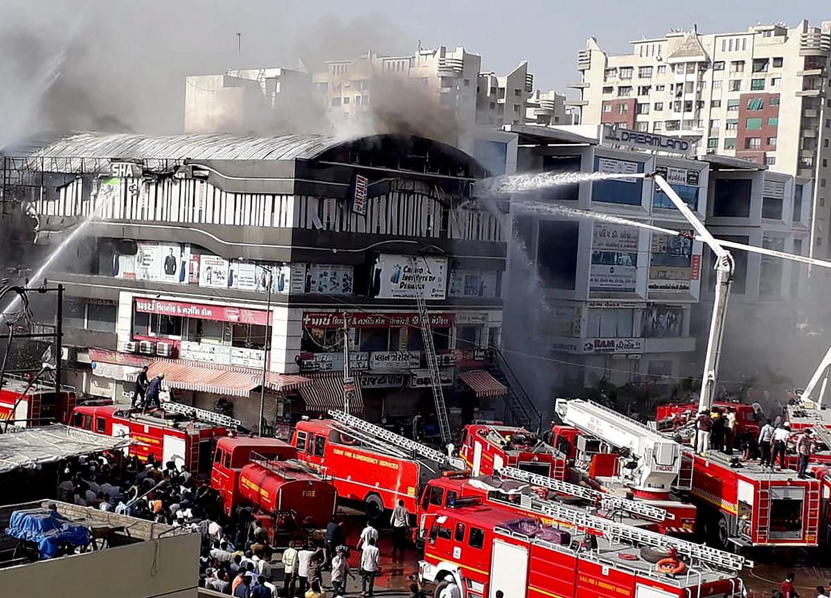 Fire In Surat  Kills 20 People, Including 18 Teenagers