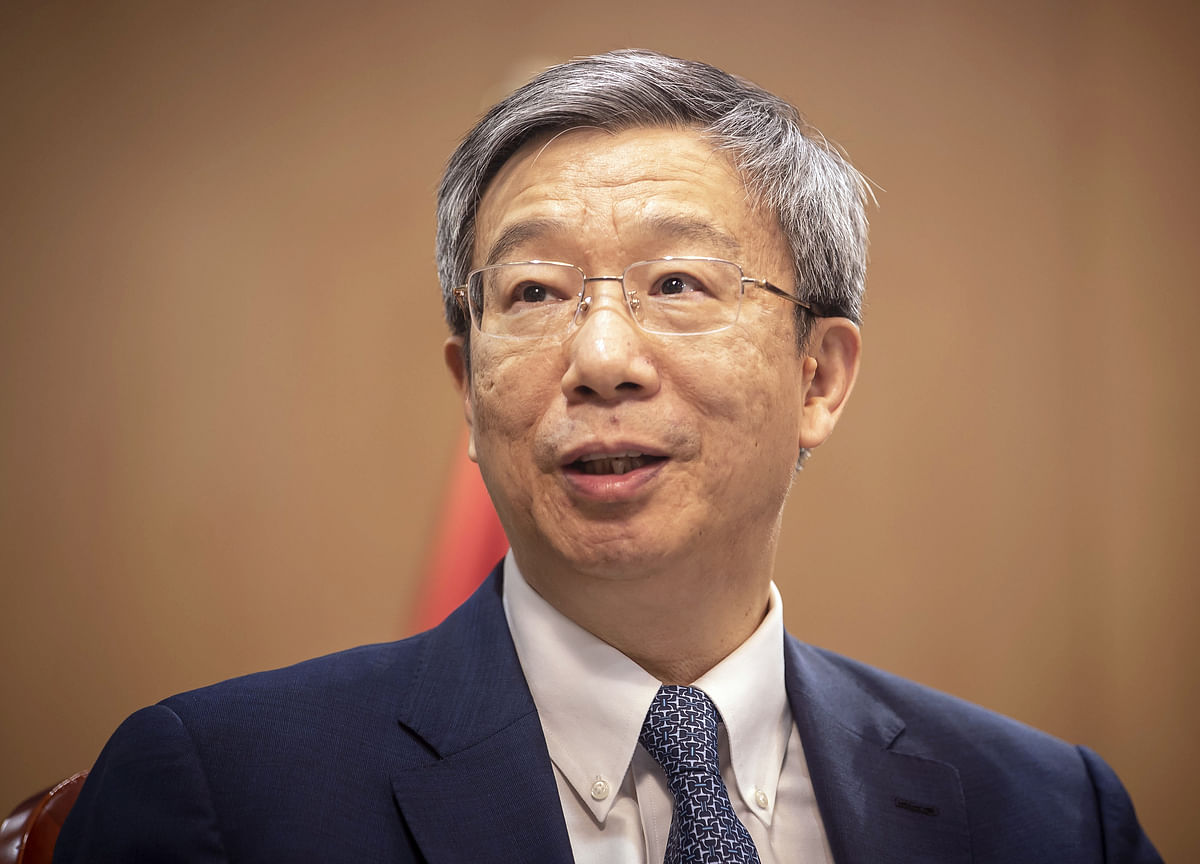 China's Central-Bank Governor Says Current Interest Rates Good