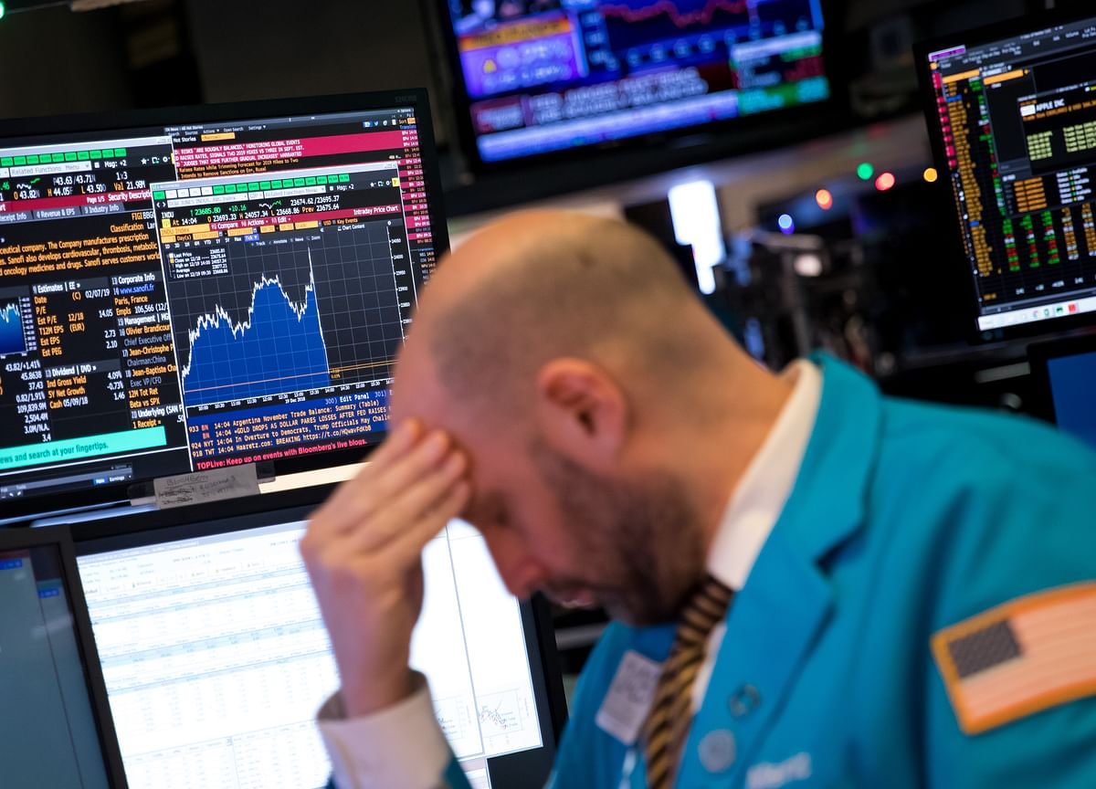 S&P 500 Wipes Out$4 Trillion in Its Second-Worst May Since '60s