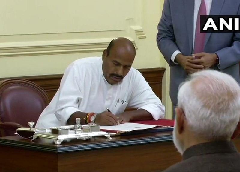 BJP MP Virendra Kumar Sworn In As Protem Speaker Of Lok Sabha