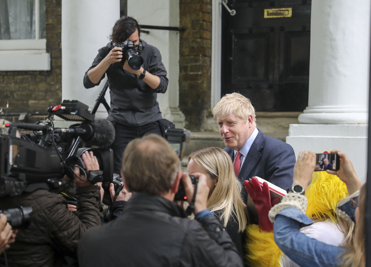 Johnson's Brush With Police Puts Leadership Bid in Turmoil