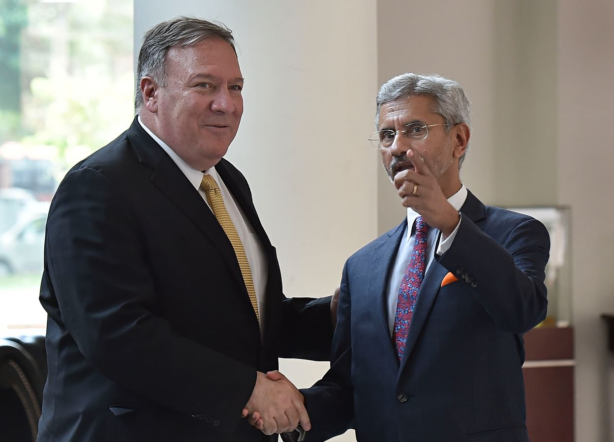 Live: Mike Pompeo, S Jaishankar Joing Press Conference Begins After Meeting  On H1-B Visa, S-400 Defence Purchase, U.S. Sanctions On Iran Oil