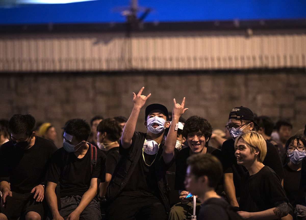 The Faces of Hong Kong's Historic Stand Against China