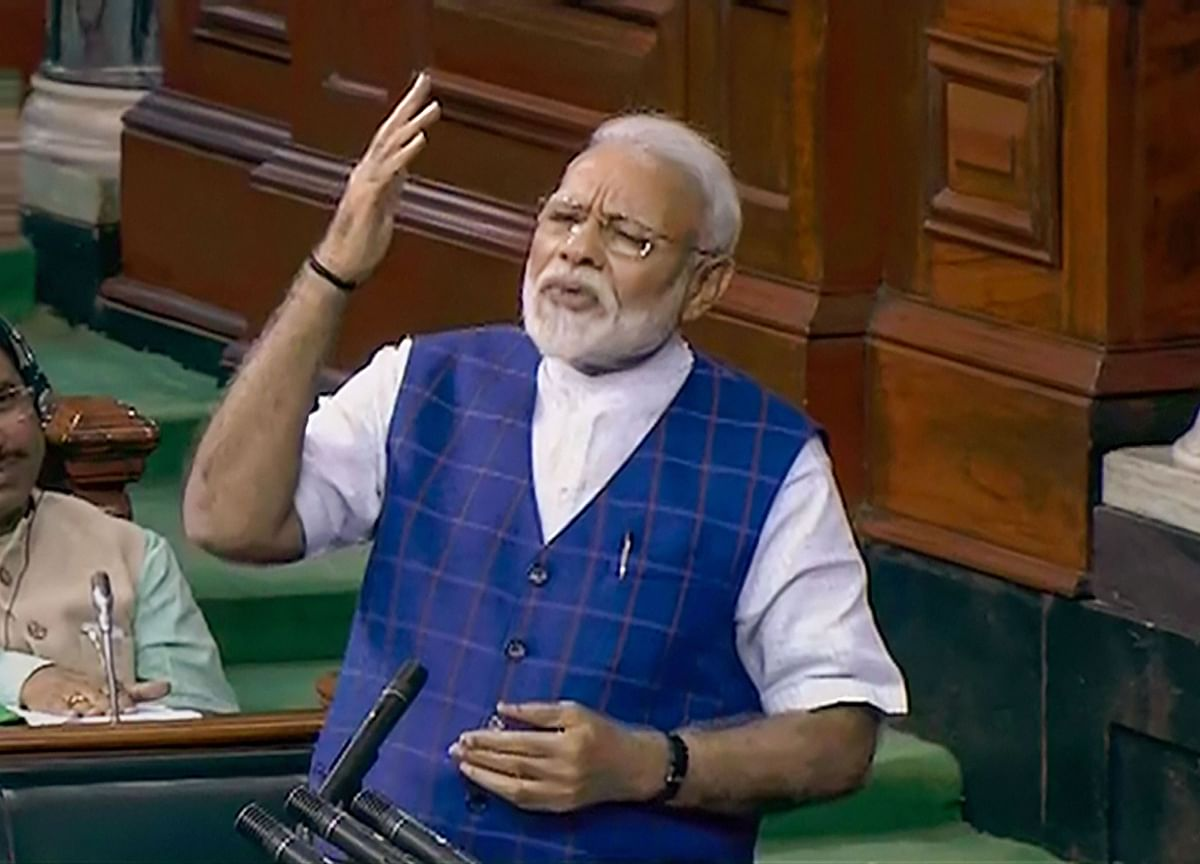 Congress Never Recognised Efforts Of Anyone Apart From Gandhi Family, Says PM Modi