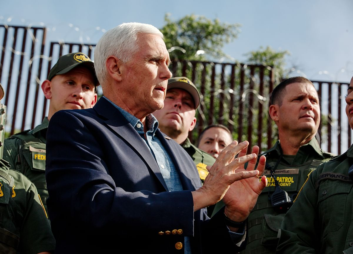 Pence Warns Mexico Tariffs Are Coming With More Talks Set Friday