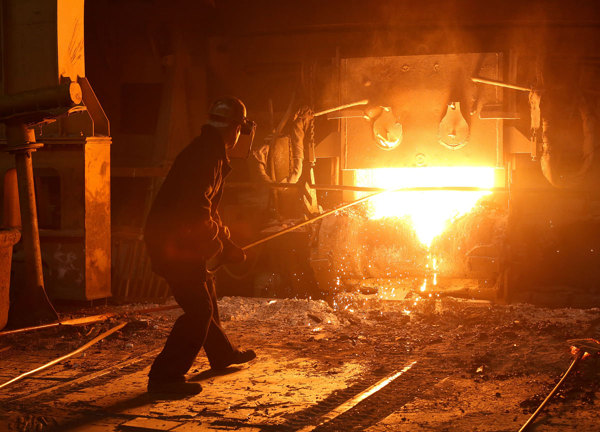 Eight Core Industries Saw Output Fall 3.7% Month-On-Month In May