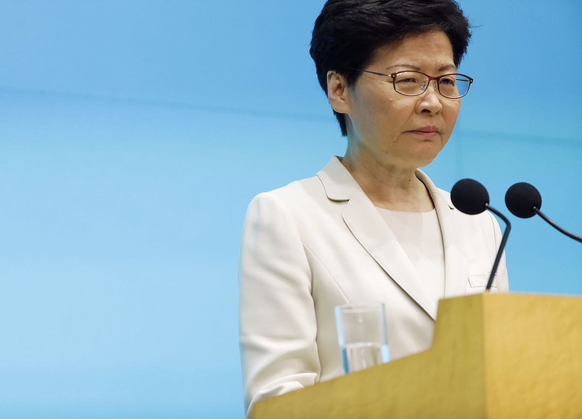 Hong Kong Leader Carrie Lam Makes Personal Apology, But Won't Resign