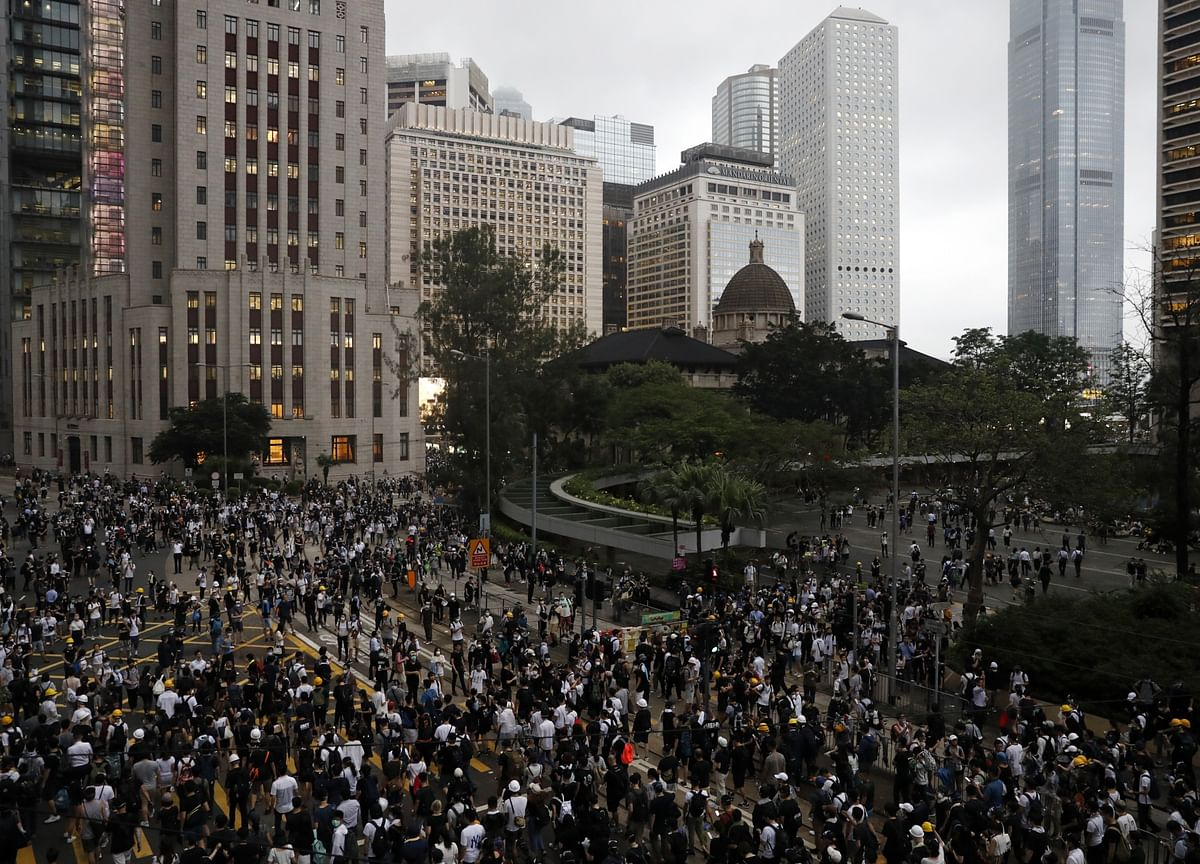 Hong Kong Tempts China's Ire as Protests Take More Violent Turn