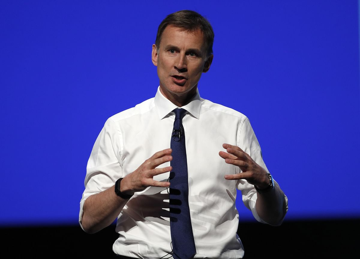 Hunt Seeks to Boost Credentials With Plan for No-Deal Brexit