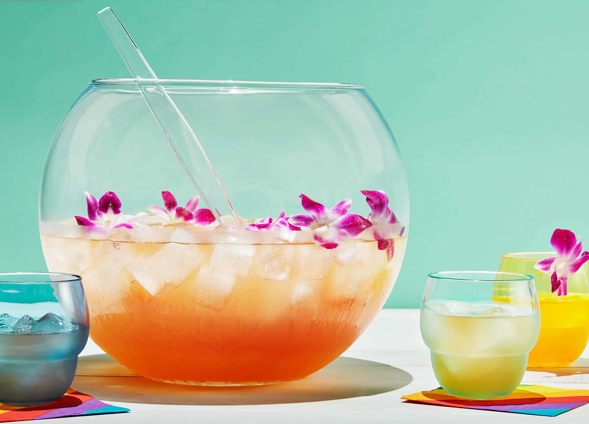 The Perfect Punch for a Gay Pride Party Combines Vodka and Rosé