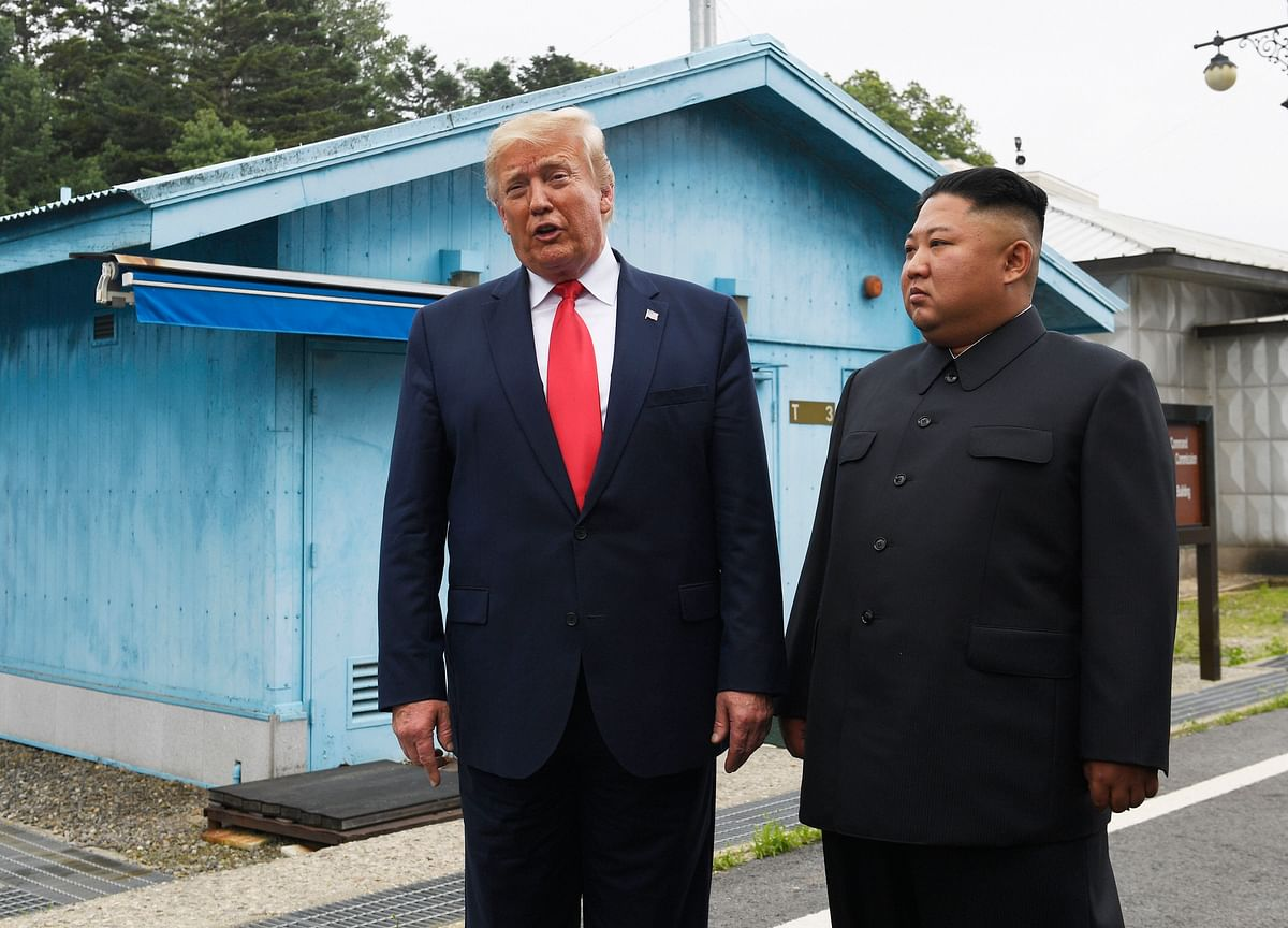 Trump Makes History With Kim, Reviving Stalled Nuclear Talks