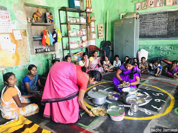 "Social taboos, migration and varying poverty levels are major stumbling blocks for Mathrupoorna. However, one obstacle is overworked and <a href=""https://www.indiaspend.com/why-health-workers-paid-rs-4000-per-month-are-vital-to-indias-national-nutrition-mission-22093/"">underpaid</a><em> anganwadi</em> workers. The government programme has increased the burden of <em>anganwadi</em> workers and helpers, according to health sector activists."