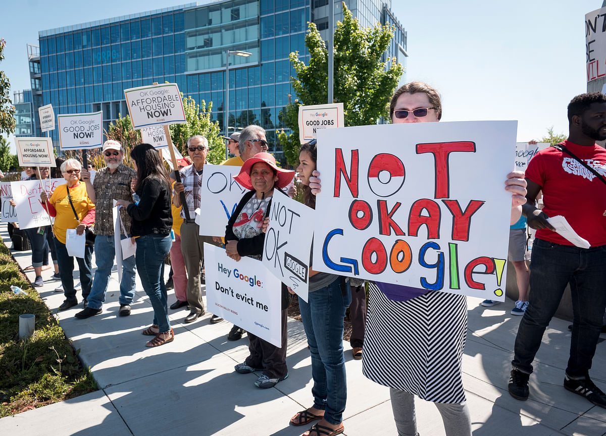 Alphabet's Annual Meeting Draws Protests on Multitude of Issues