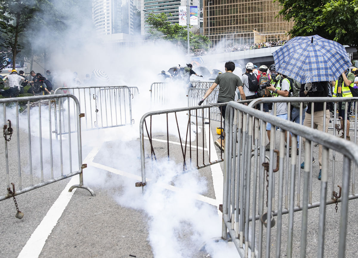 Hong Kong Protest Organizers Call for March on Sunday