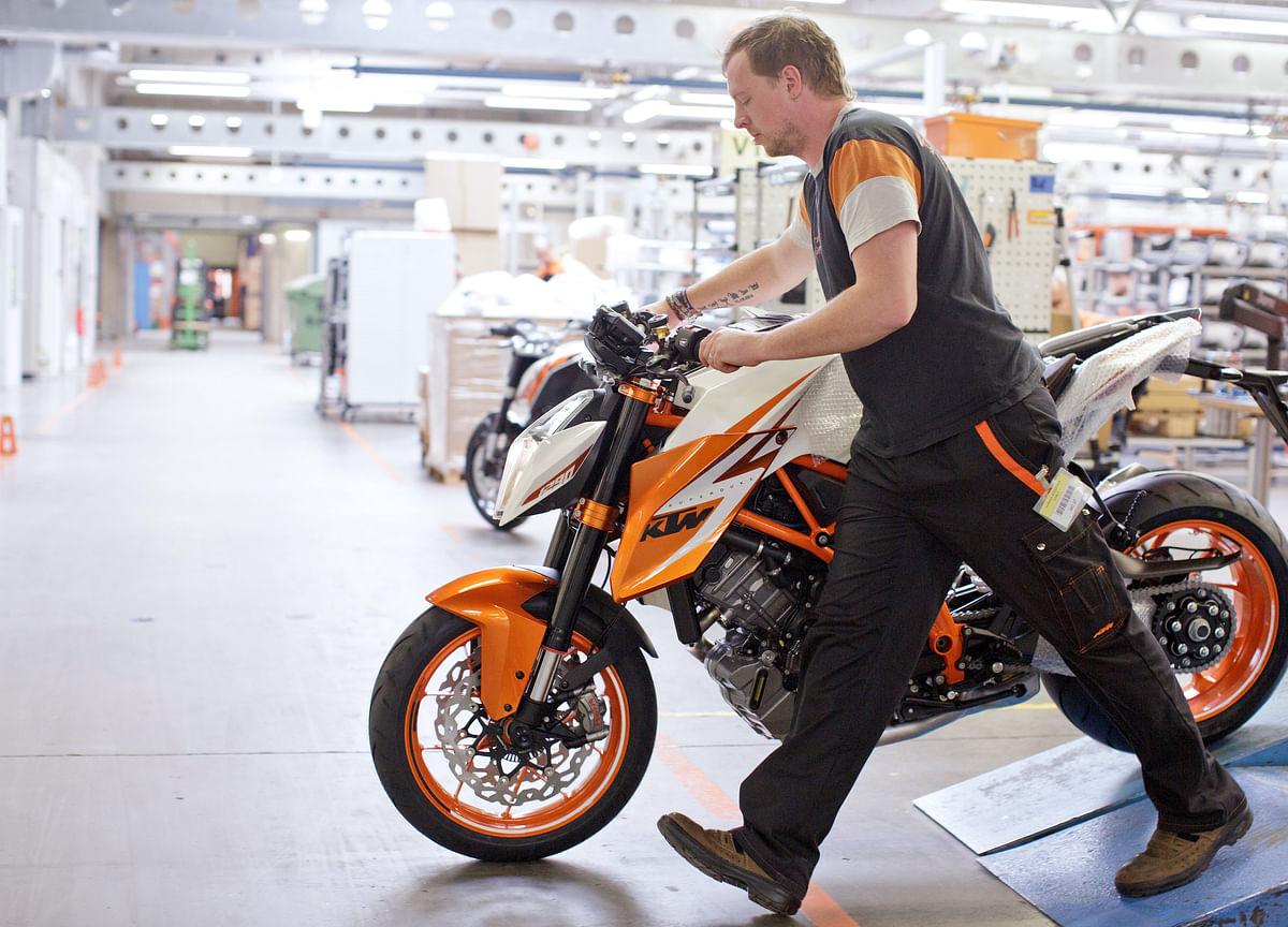 Motorcycle Maker KTM Passes Harley and Aims at Kawasaki