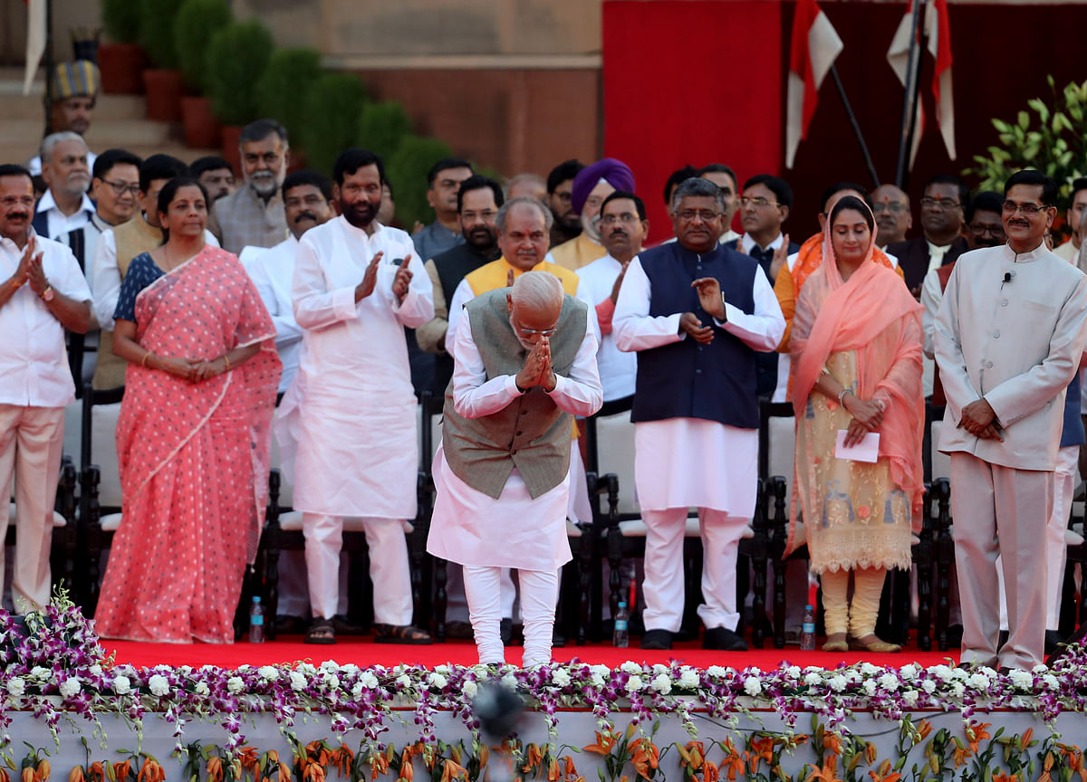 Modi Said To Hold First Meeting Of New Council Of Ministers On June 12