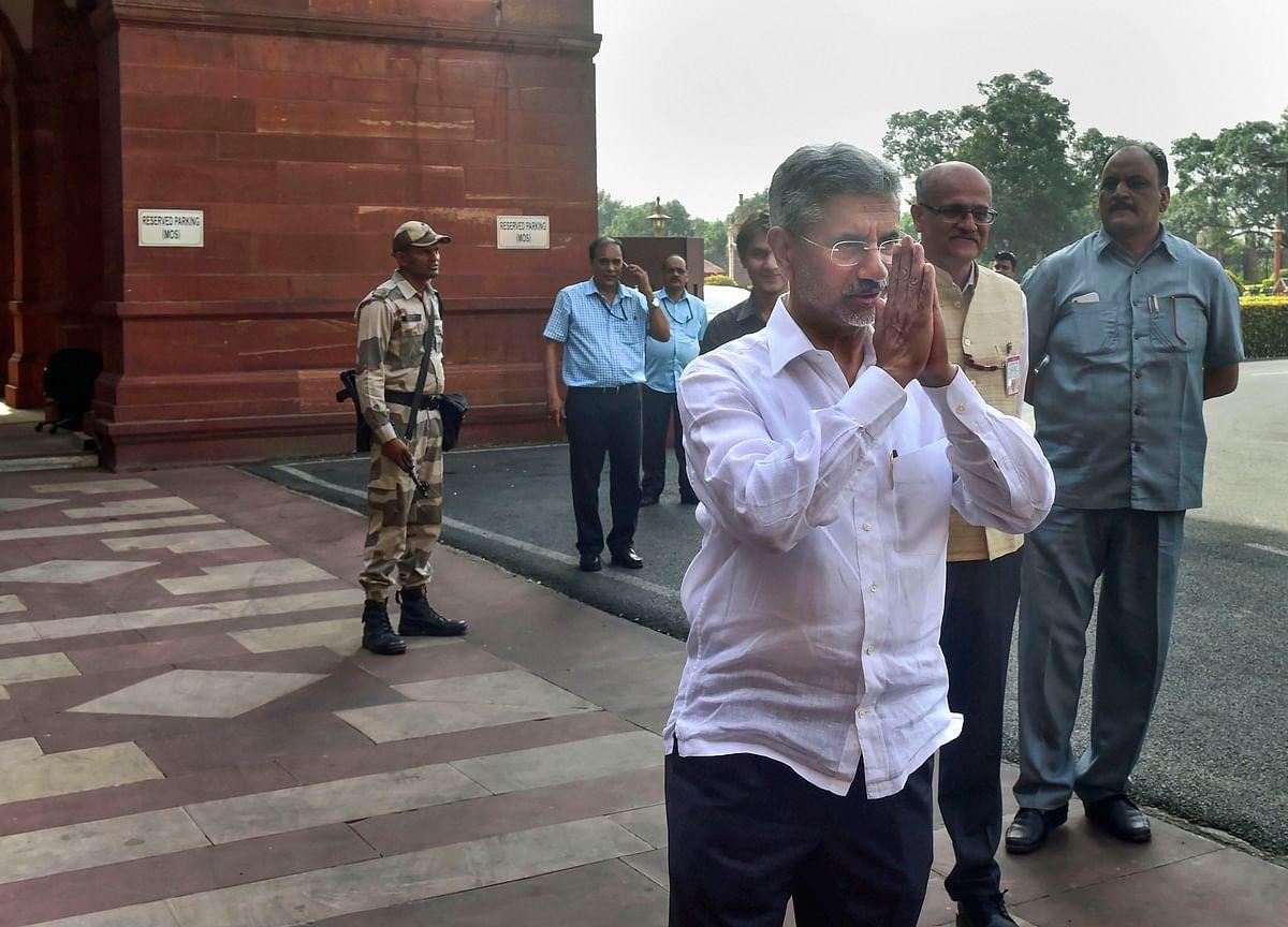 Foreign Minister Jaishankar Arrives In Bhutan On First Overseas Visit