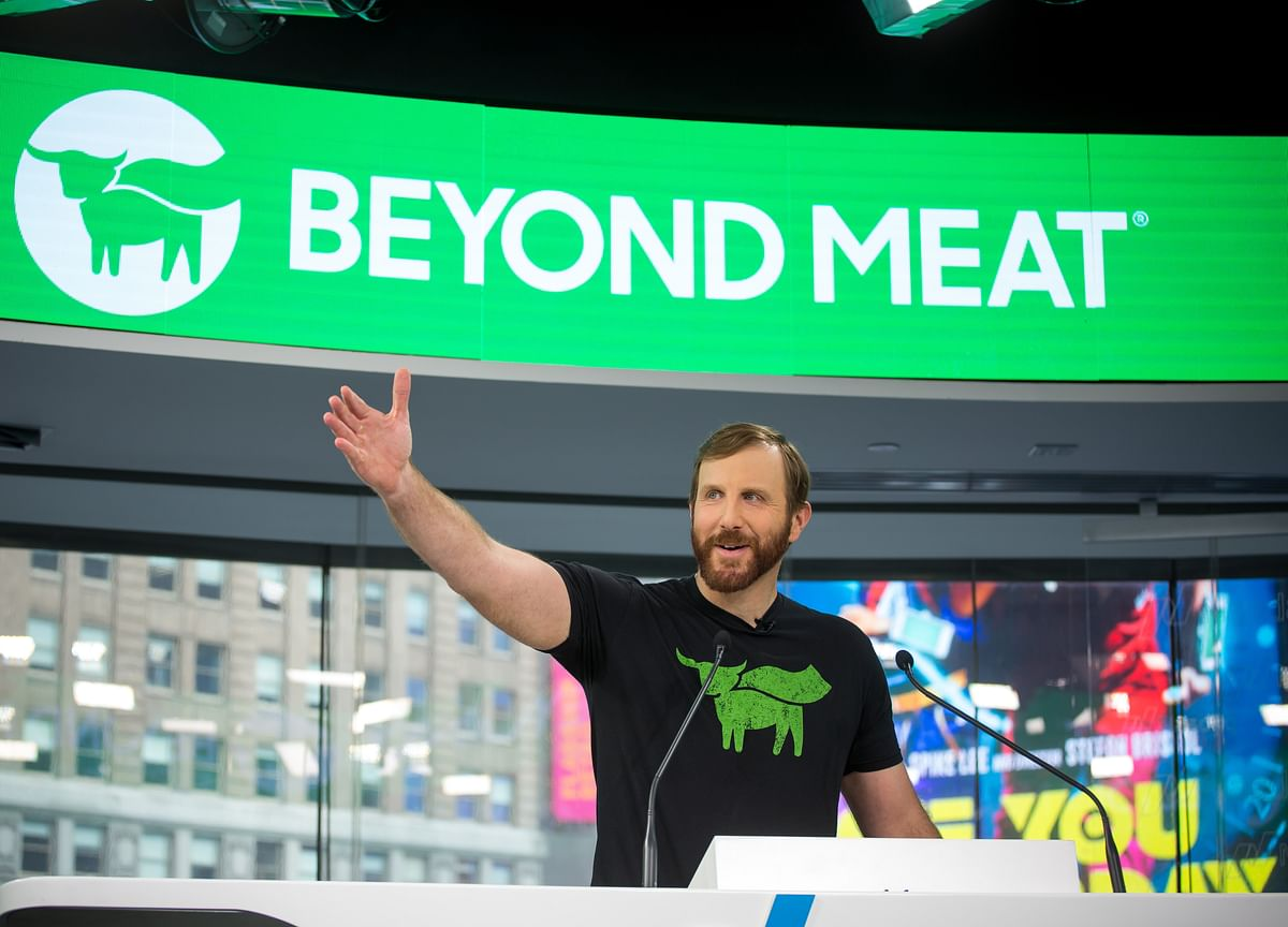 Beyond Meat Closes at Record High as Short-Seller Losses Mount