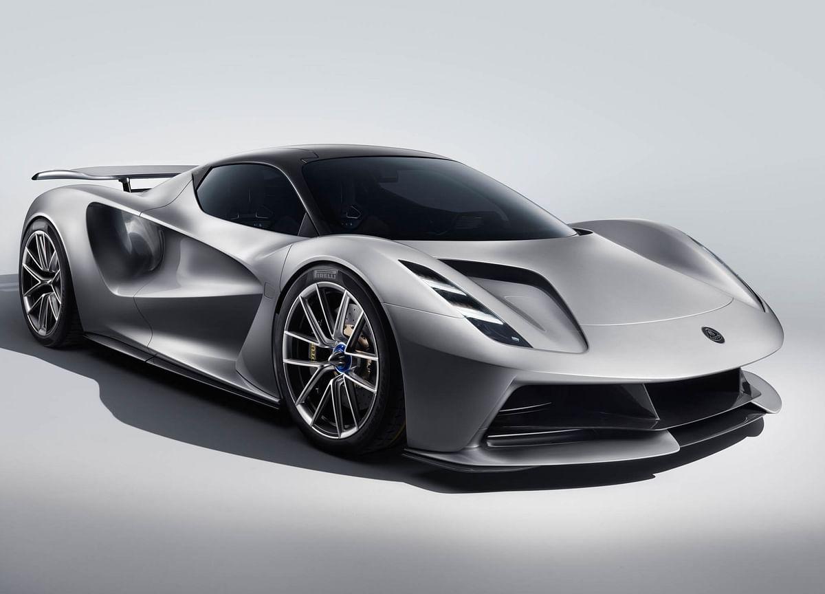 Lotus's $2.1 MillionEvija Electric Hypercar Doesn't Have Door Handles