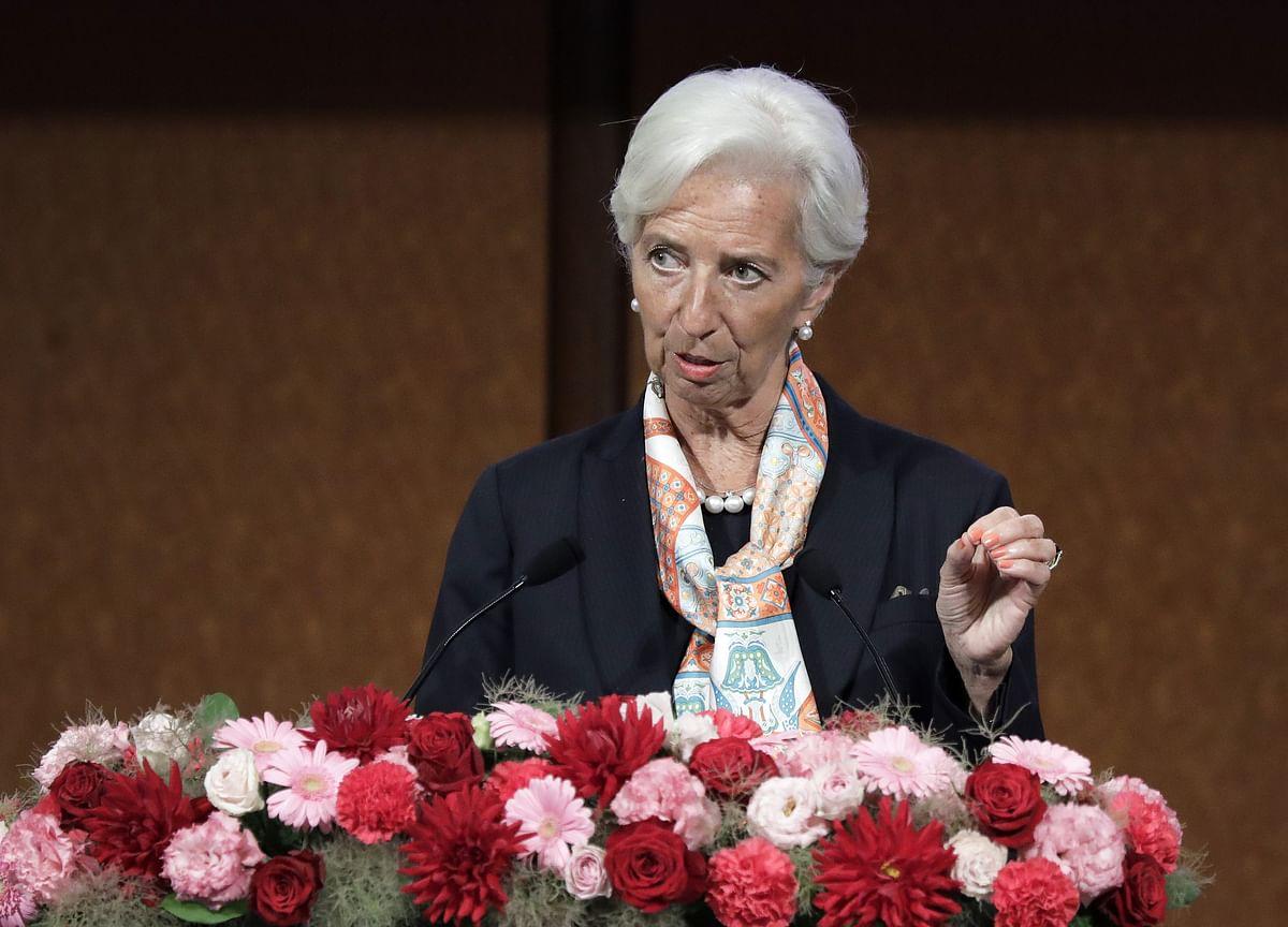 IMF Says Lagarde Submits Resignation Effective Sept. 12