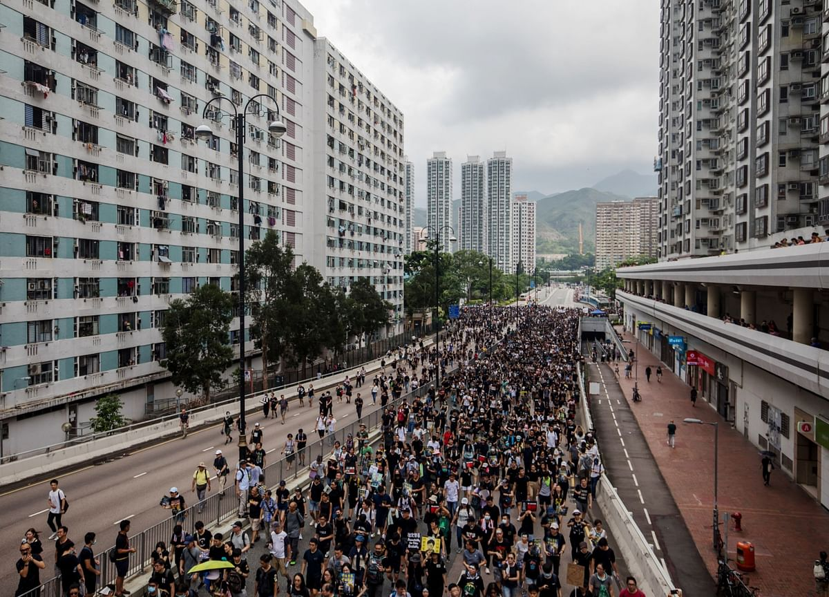 Hong Kong Protests Have City's Residents Plotting Their Exit