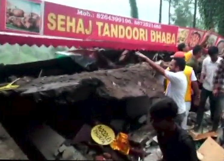 Army Personnel Among 35 Feared Trapped After Building Collapses In Himachal