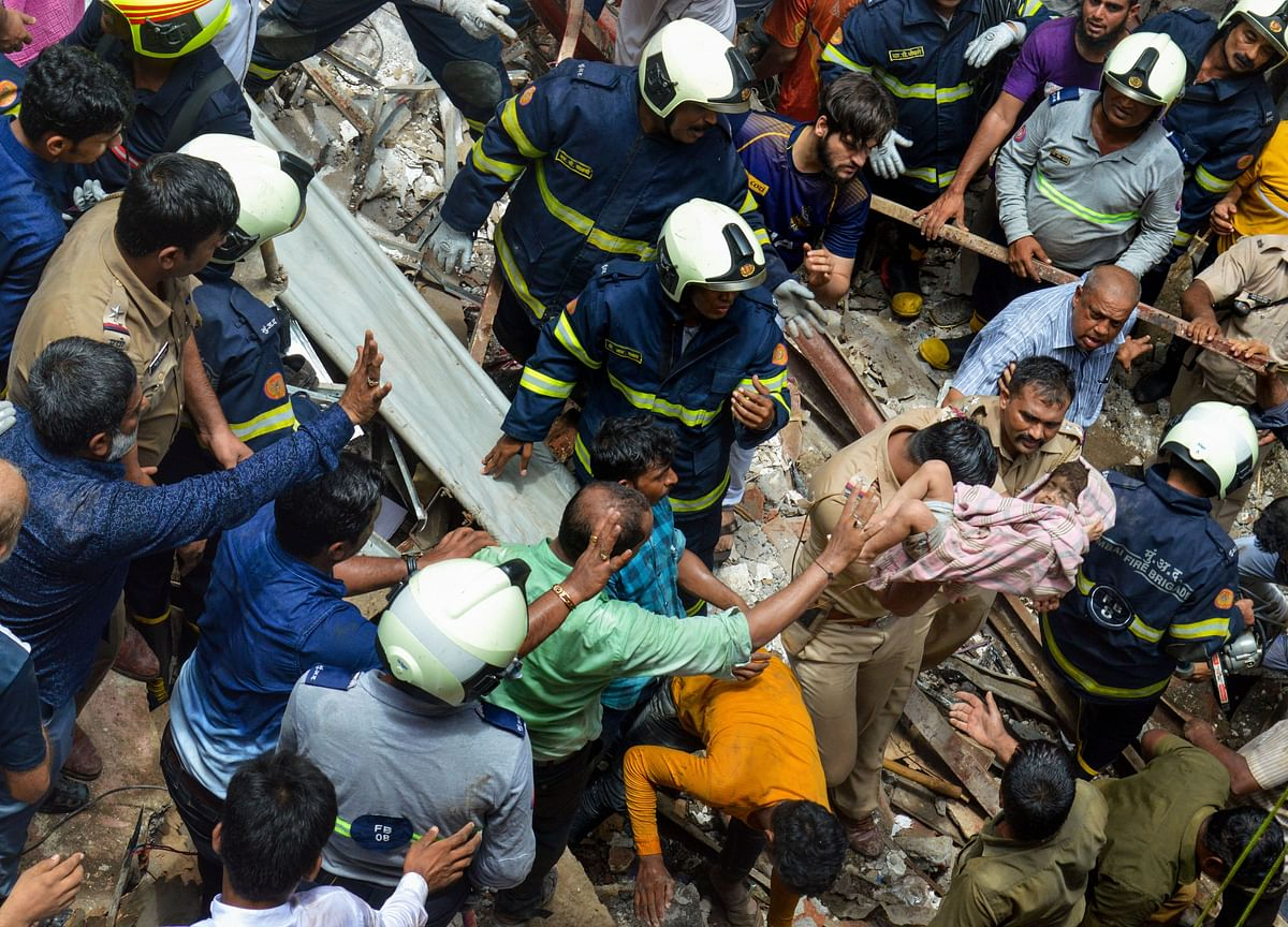 Why Mumbai Fire Brigade Gets One Structural Collapse Call Each Day