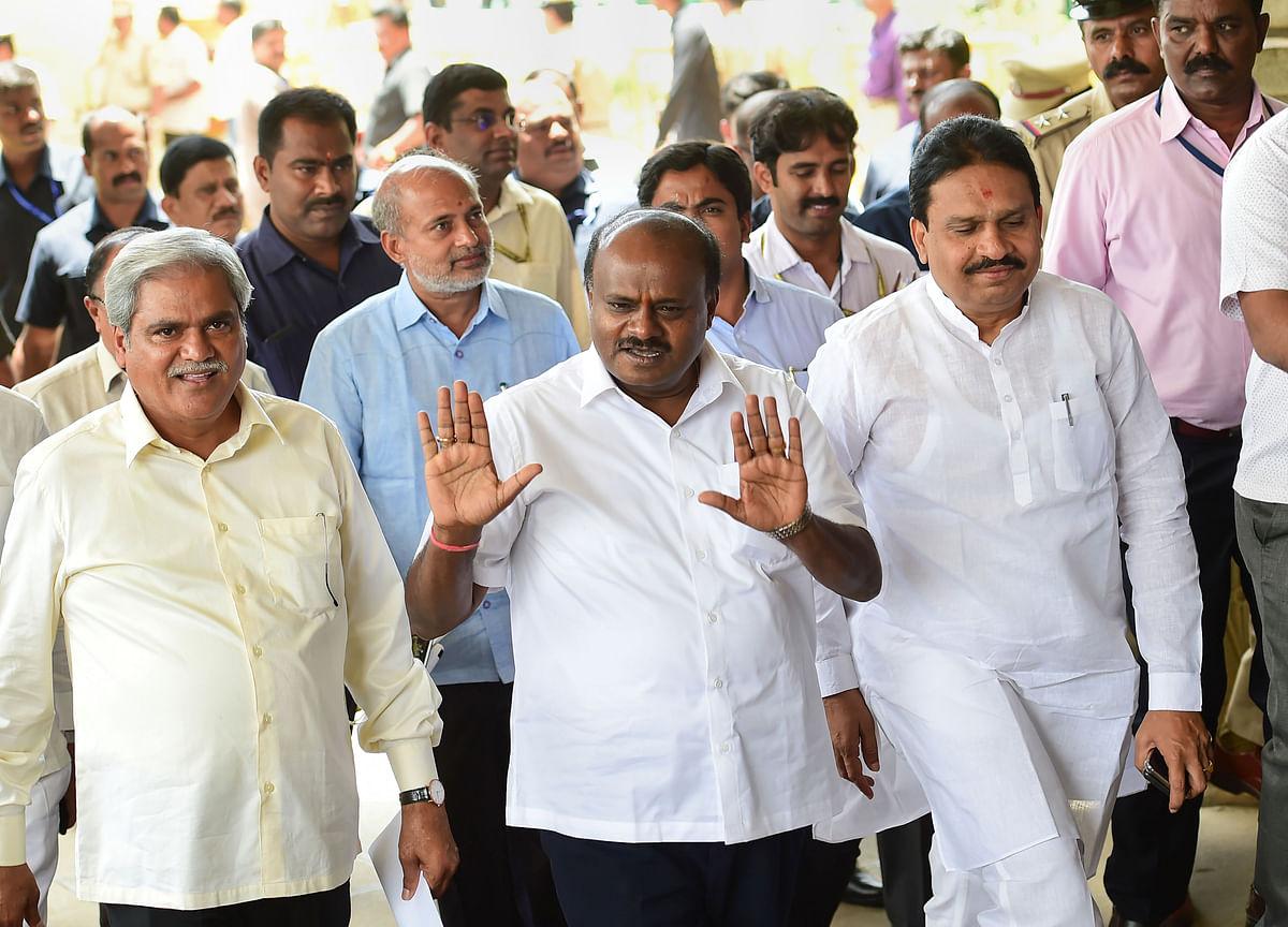Karnataka Trust Vote: Assembly Adjourned For The Day