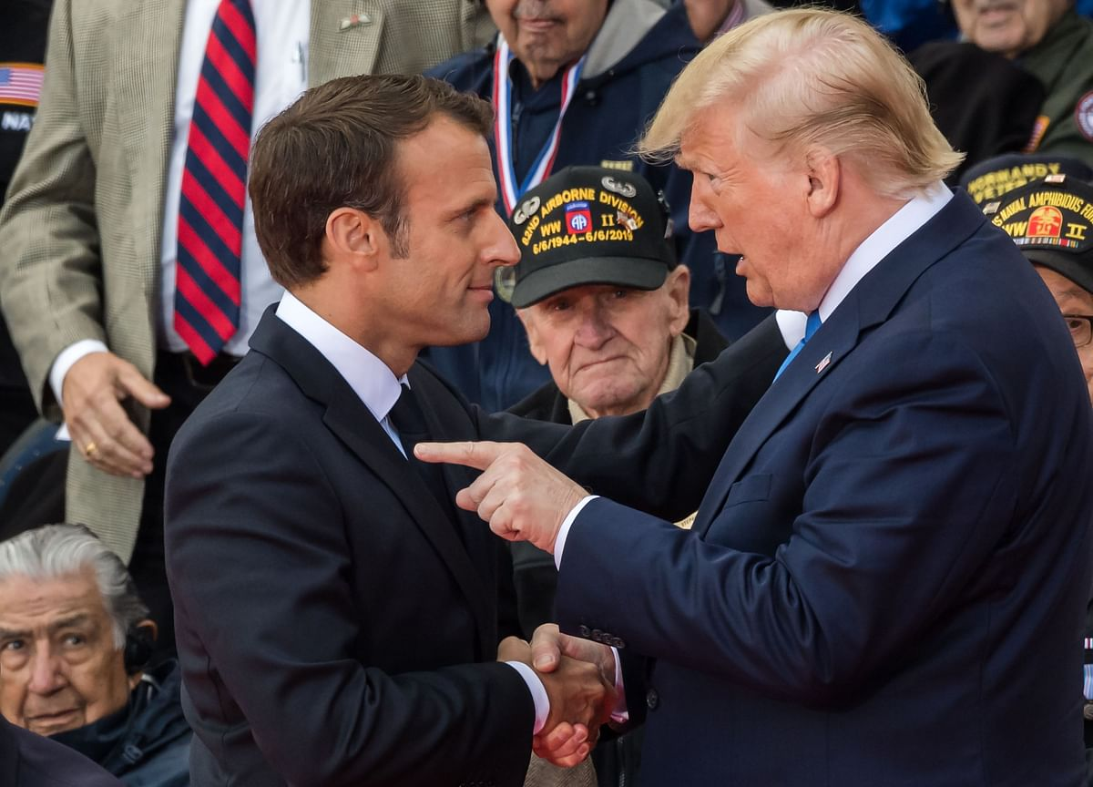 Donald Trump Throws a Tax Bomb at Emmanuel Macron