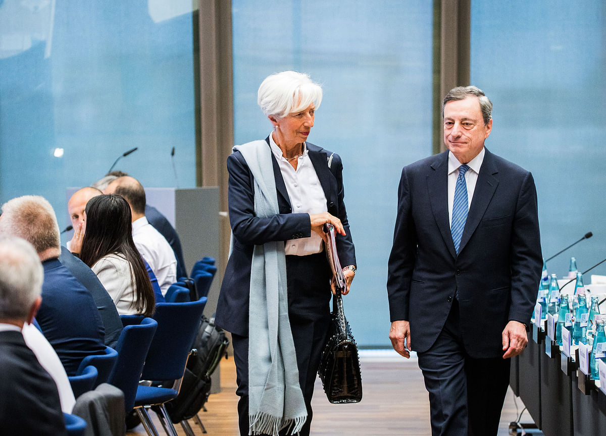 Draghi Should Replace Lagarde at the IMF