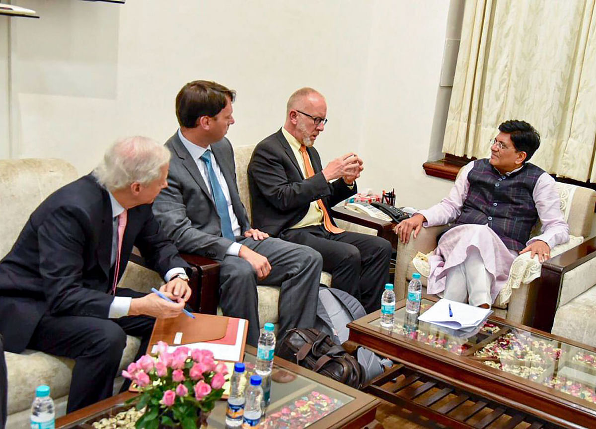 India, U.S. Officials Discuss Trade Issues