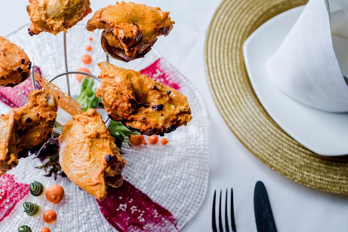 Laksa Chicken Kebab. (Photo courtesy: Chef Manjunath Mural)