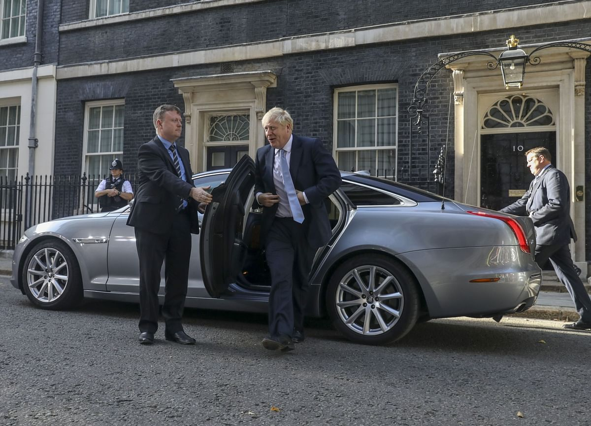 Boris Johnson Repeats Backstop Must Be Dropped From Brexit Deal