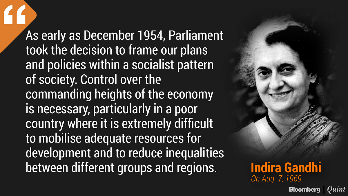 Why Indira Gandhi Nationalised India's Banks
