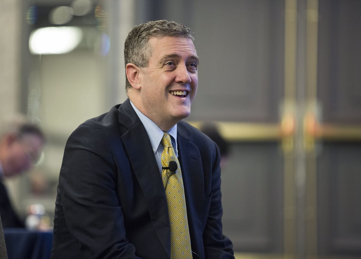 Fed Dove James Bullard Backs Quarter-Point Cut, Would Love to Be Chair