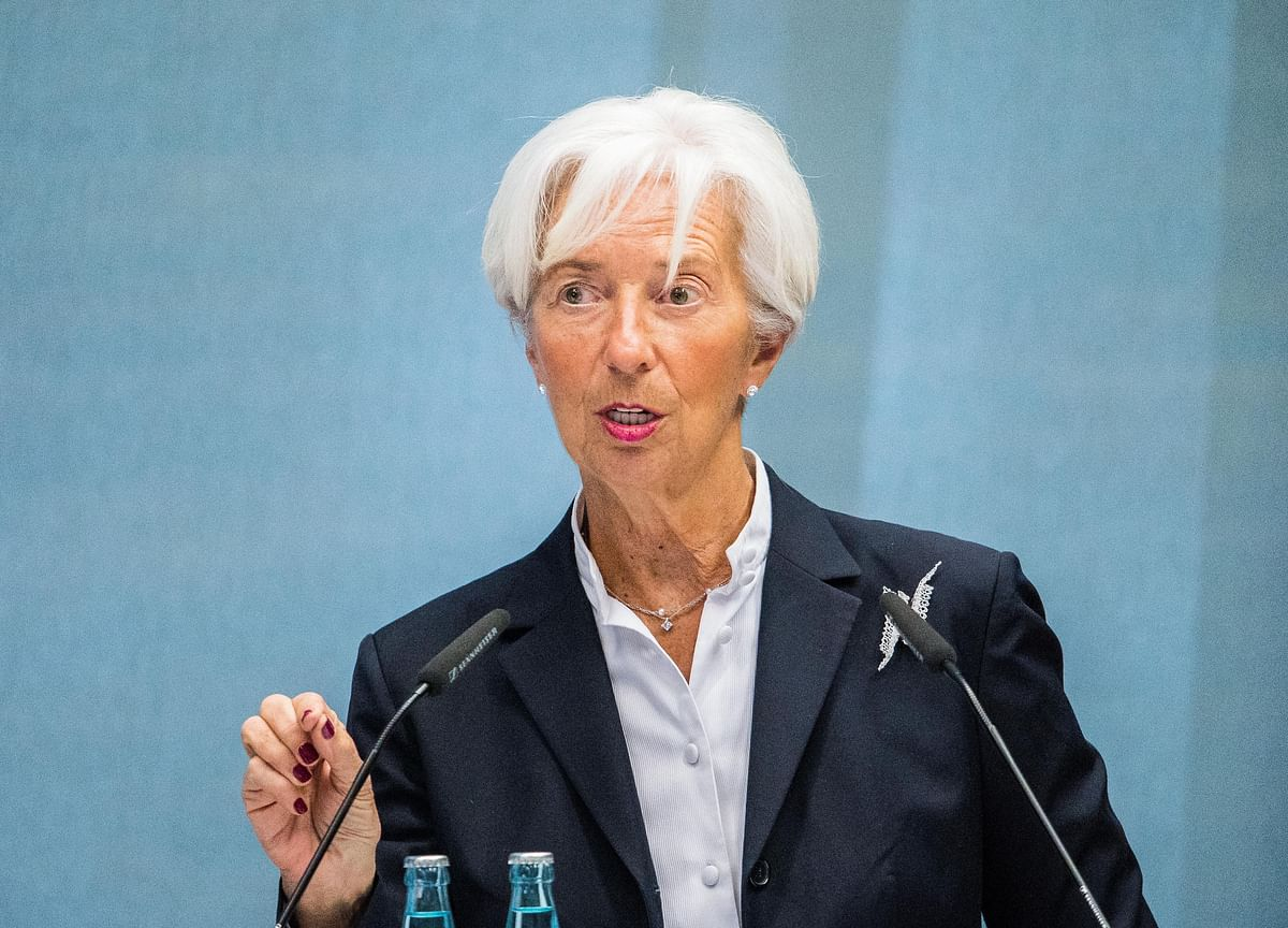 Lagarde to Succeed Draghi as ECB Chief as Economy Weakens