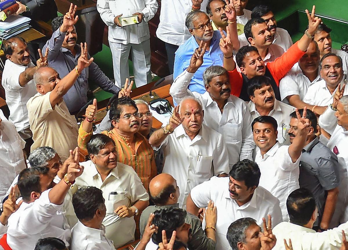 BJP's Yeddyurappa To  Take Oath As Karnataka Chief Minister At 6 P.M. Today
