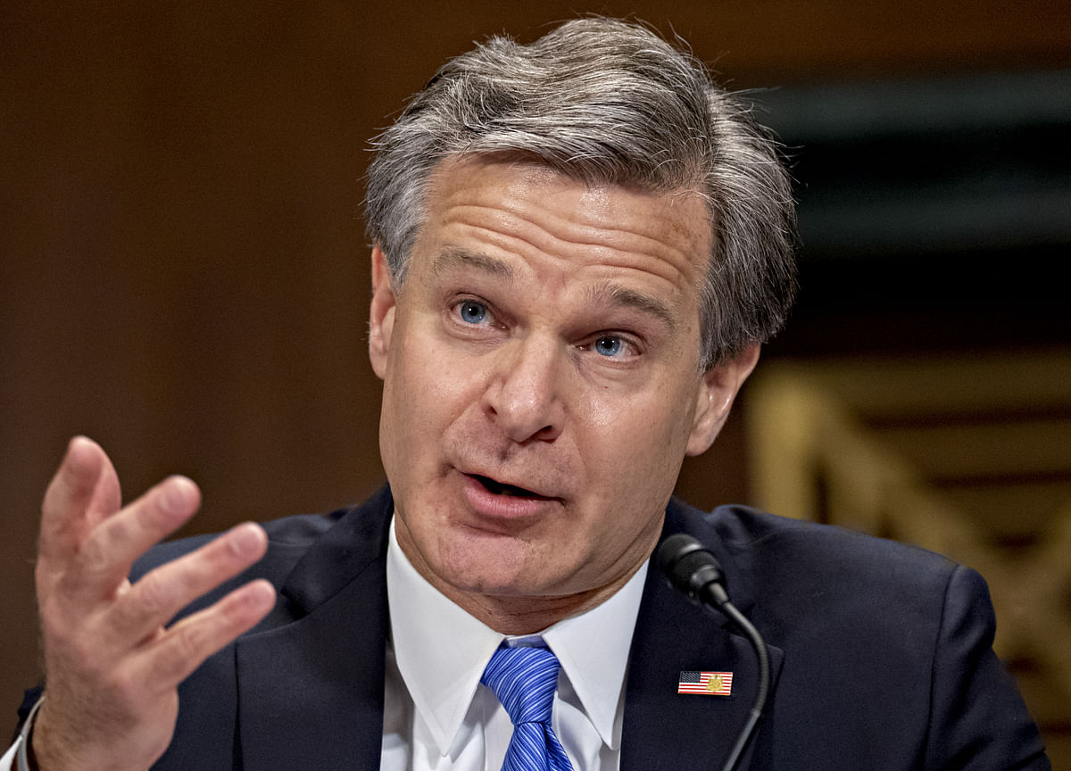 FBI Chief Says China IsTrying to 'Steal Their Way' to Dominance