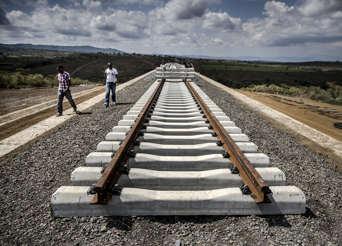 China's Built a Railroad to Nowhere in Kenya